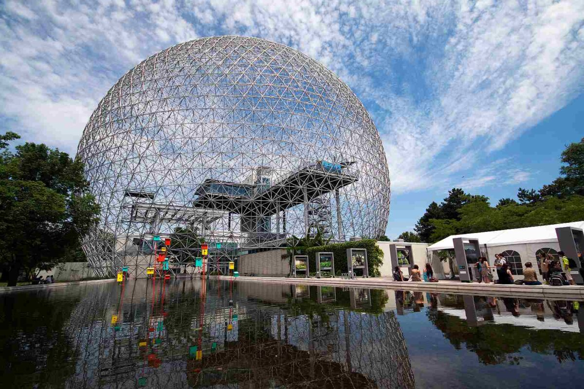 The Geodesic Dome in Montreal